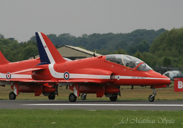 XX233 Red Arrows crashed 23.03.2010